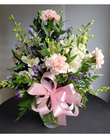1956 6-inch Classic Vase Flower Arrangement