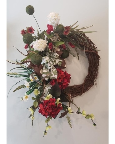 Everyday Beauty Wreath Flower Arrangement