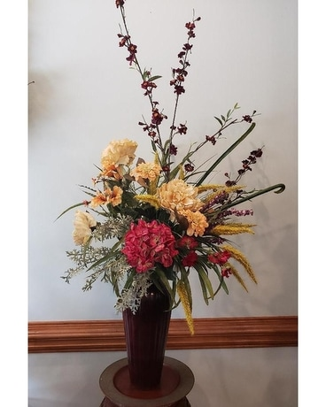 Dusty Sunset Flower Arrangement