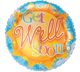 Get Well Mylar Balloon, #31