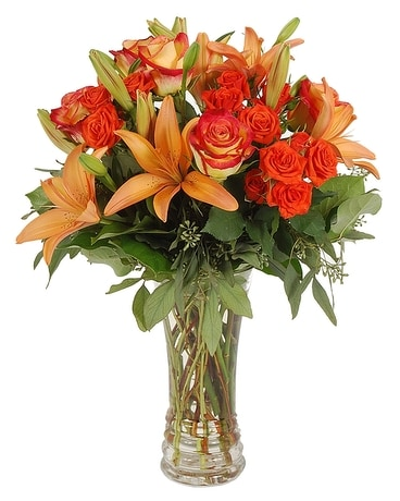 Fall Garden Flower Arrangement