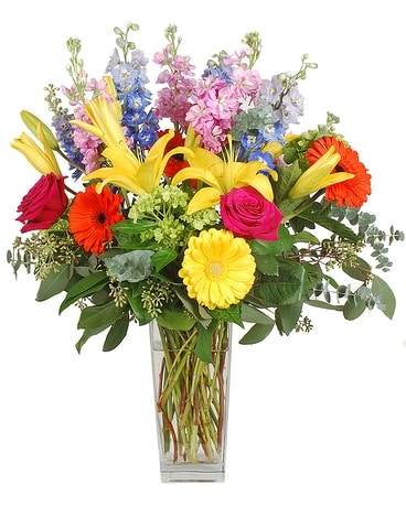 Knockout Flower Arrangement