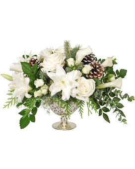 Merry and Bright Flower Arrangement