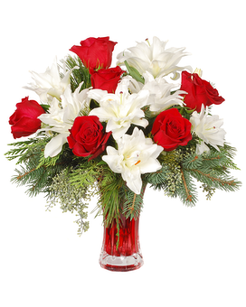 Holiday Romance Flower Arrangement