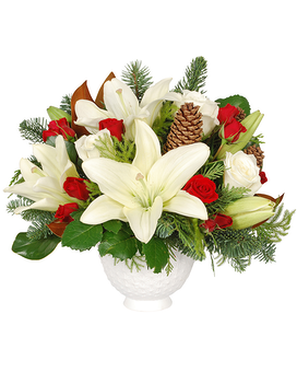 Holiday Magic Flower Arrangement