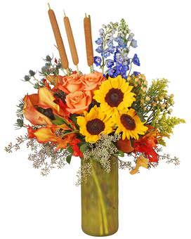 Harvest Flower Arrangement