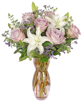 Lavender Blush Flower Arrangement
