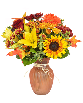 Autumn Splash Flower Arrangement