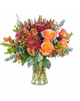 Fall Delight Flower Arrangement