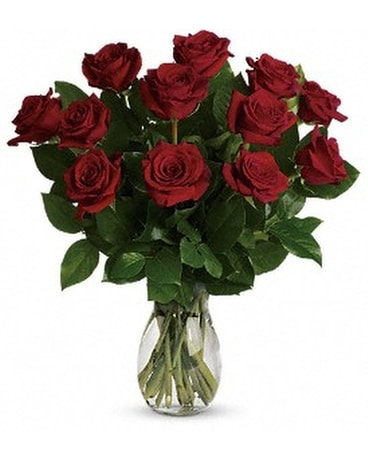 My True Love Bouquet with Long Stemmed Roses Flower Arrangement