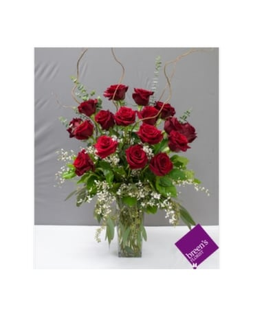 Royal Roses - 18 Red