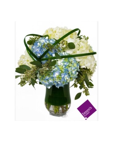 Hydrangea Madness Flower Arrangement