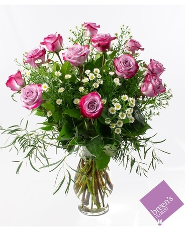 1 Dozen Twilight Roses Flower Arrangement