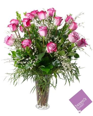 18 Twilight Roses Flower Arrangement
