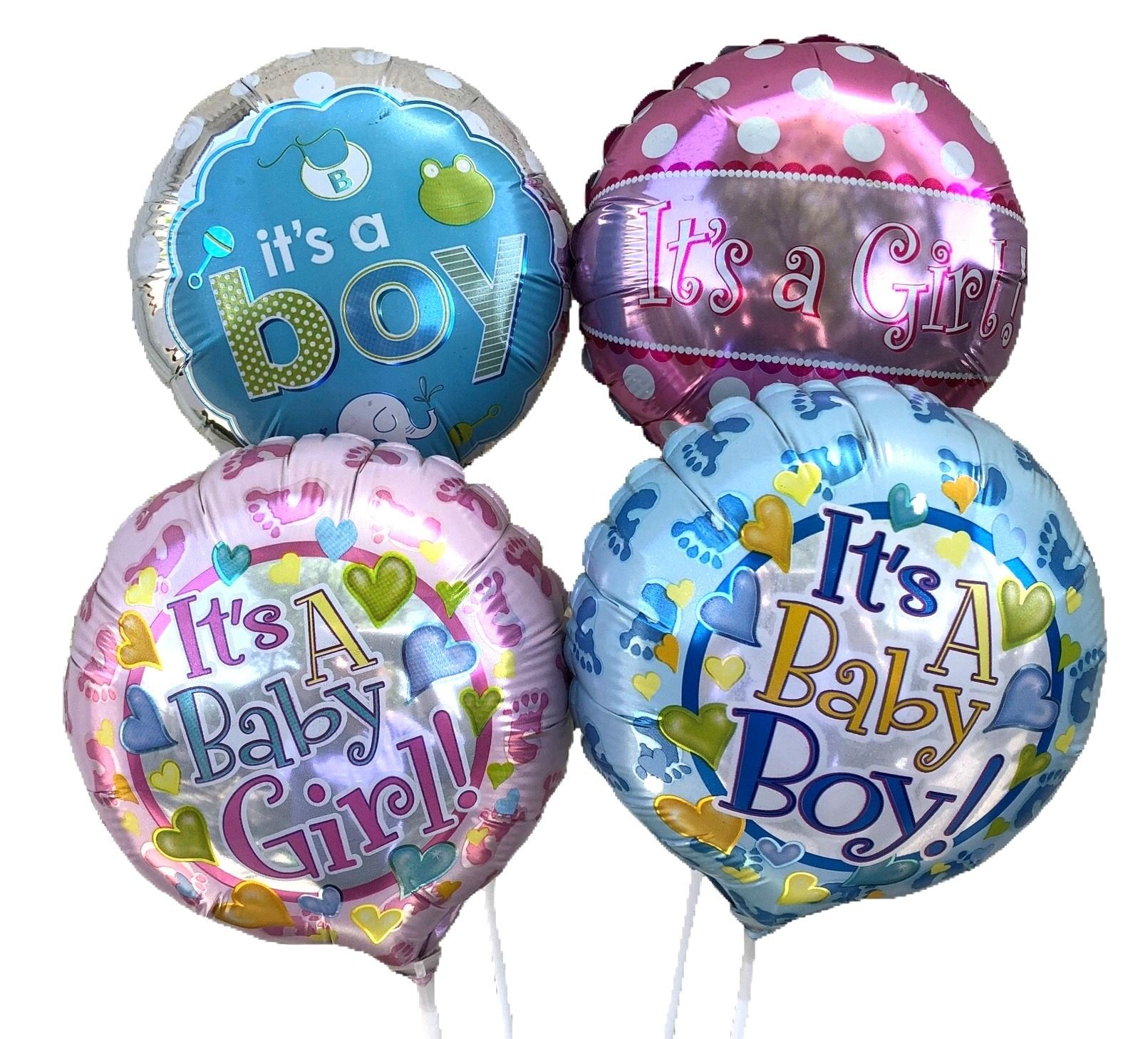 Baby Boy/Girl Stick Balloon