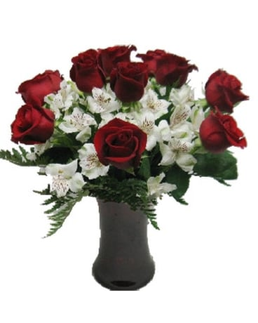 Timeless Love Red Roses - Dozen