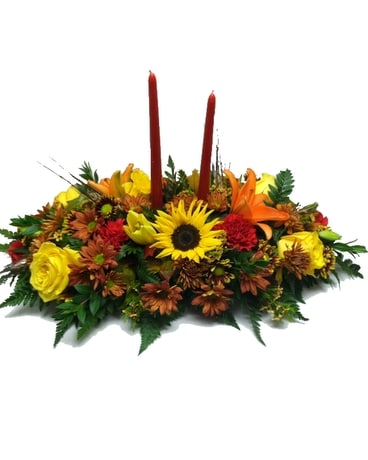 Autumn Abundance Centerpiece