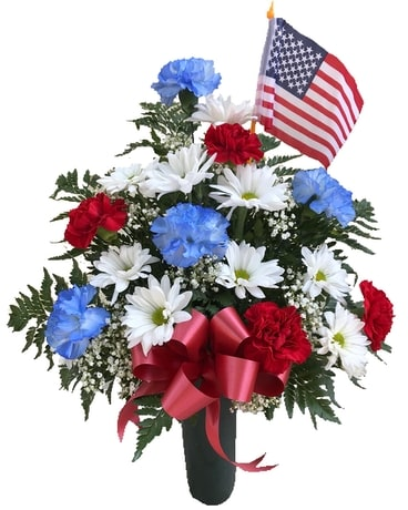 America Forever Flower Arrangement