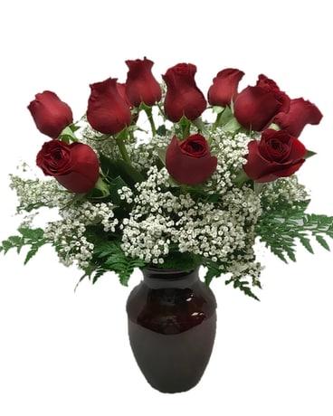 Simply Red Roses - Dozen
