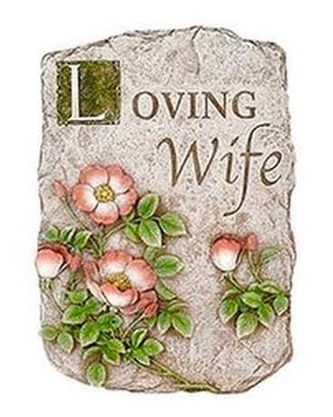 Loving Wife Sympathy Plaque Gifts