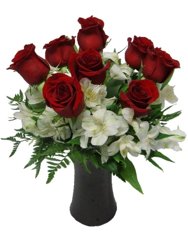 Timeless Love - 9 Red Roses Flower Arrangement