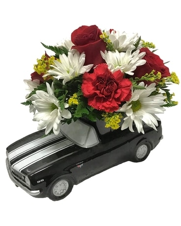 1967 Chevy Camaro Bouquet Flower Arrangement