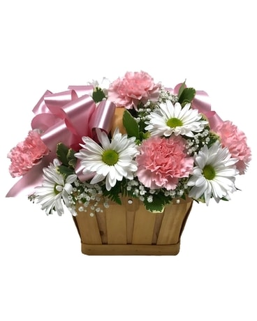 Basket of Sweetness Flower Arrangement