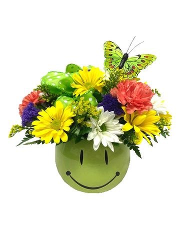 Lime So Happy Flower Arrangement