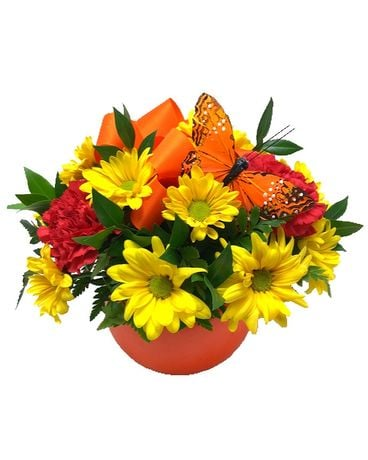 Color Me Happy Flower Arrangement