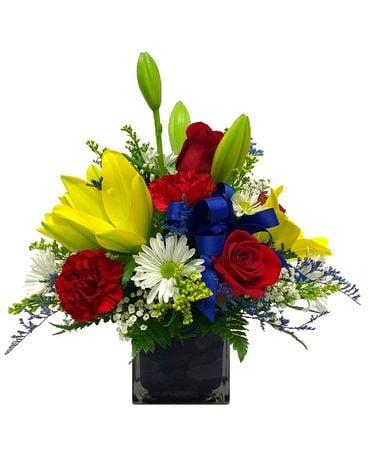 Bright & Breezy Flower Arrangement