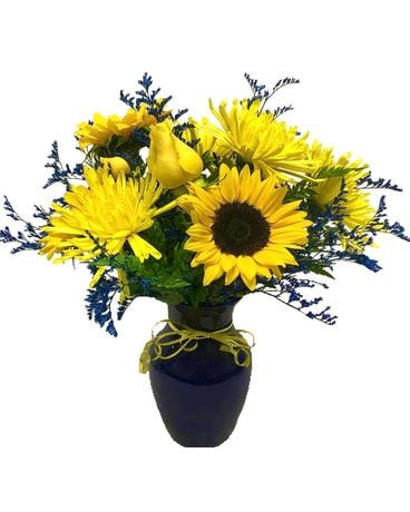 Days of Gold Flower Arrangement