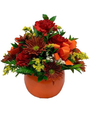 Autumn Afternoon Flower Arrangement
