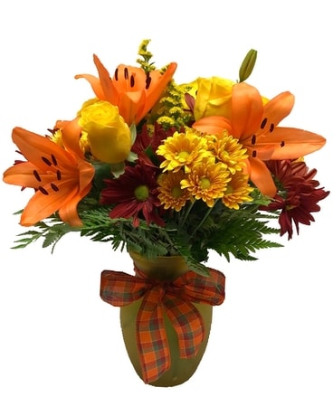 Orange Blossom Bouquet Flower Arrangement