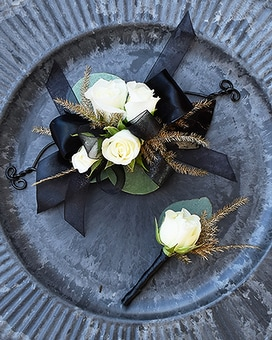 Black Beauty Corsage