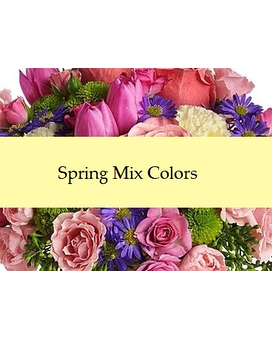 Florist Choice Spring Mix Flower Arrangement
