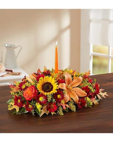 Fields of Europe Fall Centerpiece Centerpiece