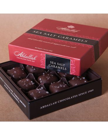 SEA SALT CARAMELS 3OZ Gifts
