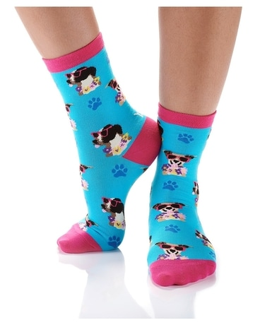 WOMEN'S CREW SOCK, SUMMER DOG DAYS Gifts