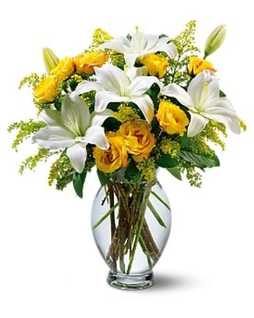 Teleflora's Pure Inspiration Bouquet Flower Arrangement