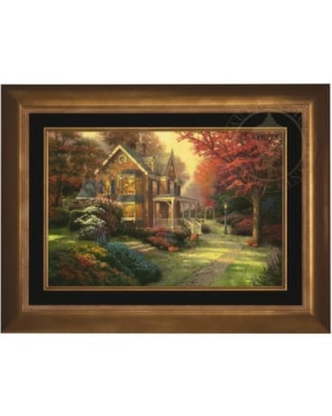Victorian Autumn by Thomas Kinkade $ 995.00