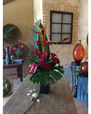 Anthurium Fun Flower Arrangement