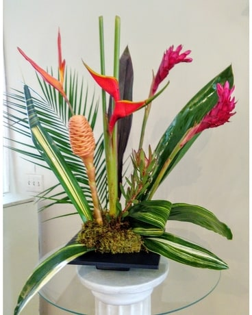 Tropical Burst Flower Arrangement