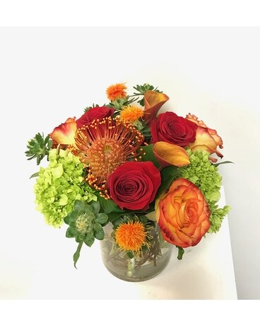 Sunset Muse Flower Arrangement