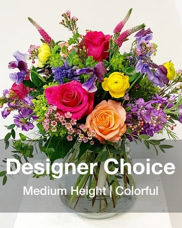Designer Choice Colorful Flower Arrangement