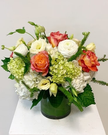 Fall Trio Centerpiece Flower Arrangement