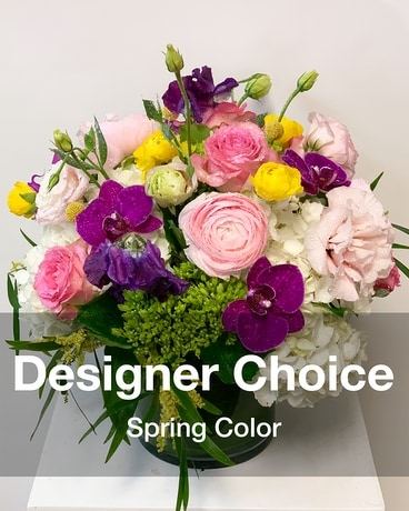 Desginer Choice Spring Flower Arrangement