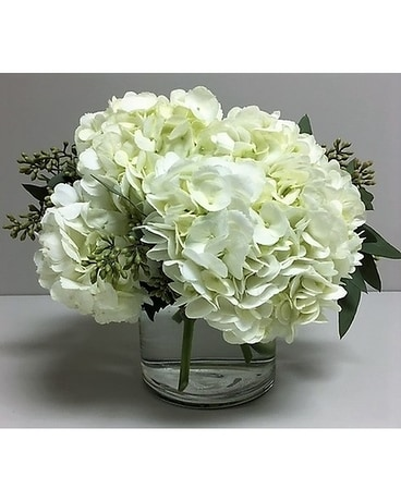 Simply Hydrangea Flower Arrangement