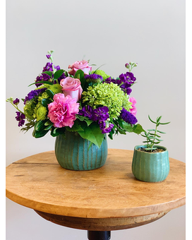 A Perfect Pair Flower Arrangement