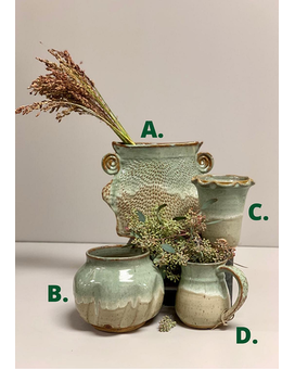 Artisan Pottery: Green Collection Gifts