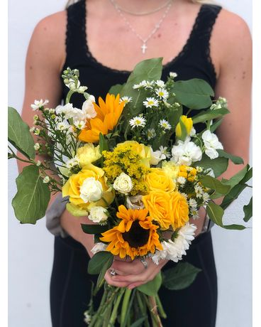 Yellows Flower Arrangement